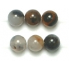 Semi-Precious 4mm Round Natural Agate